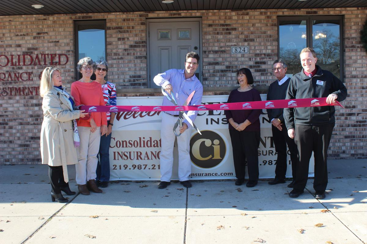 Ci Insurance cuts the ribbon