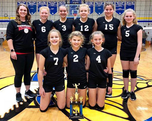 Frontier Volleyball Teams Win Tournaments Monticello