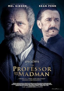 Professor and the Madman movie poster