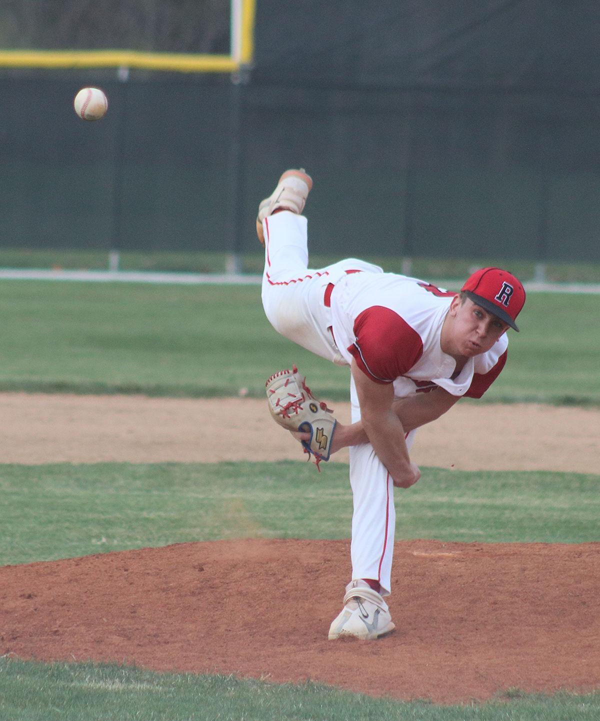 Brown makes pitching debut