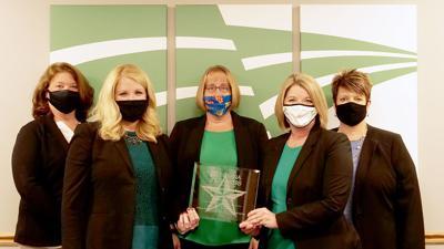Alliance Bank award