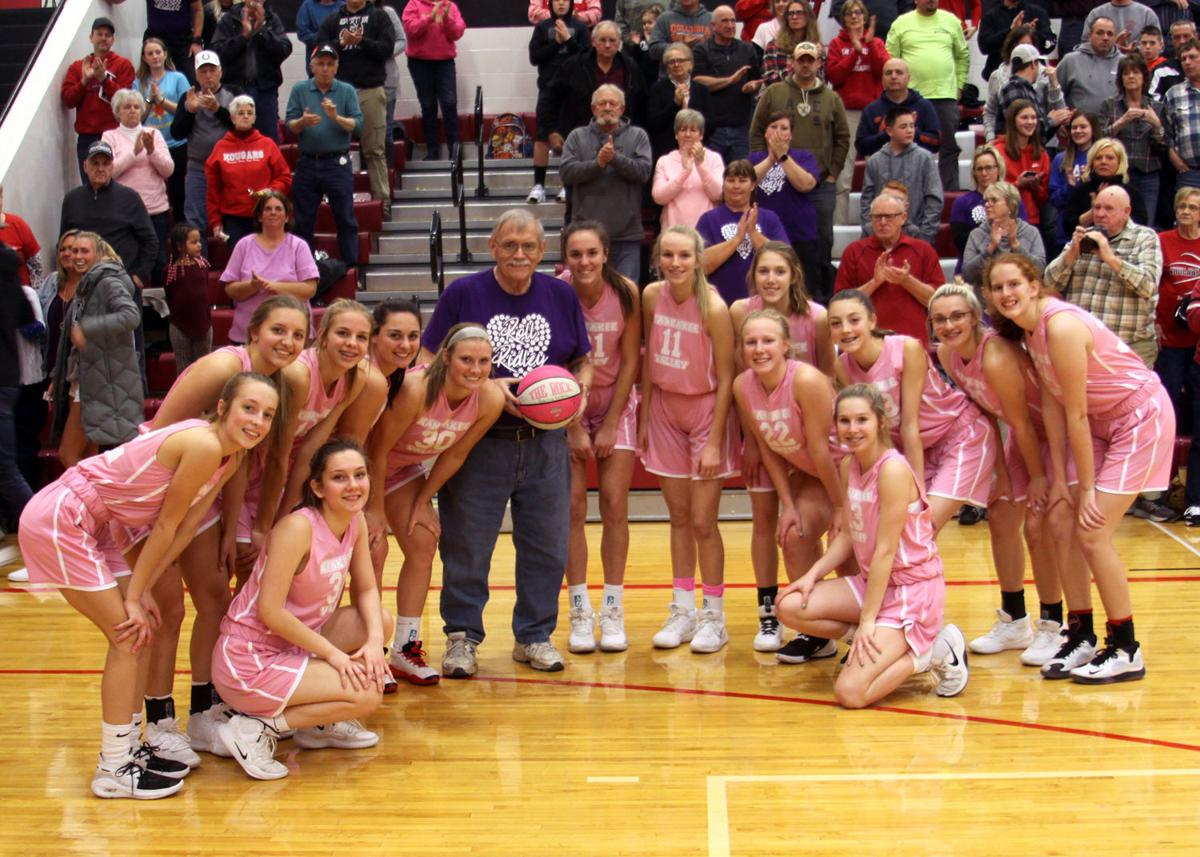 Lady Kougars and Mr. Ridley