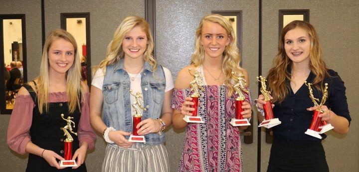 Girls varsity basketball awards
