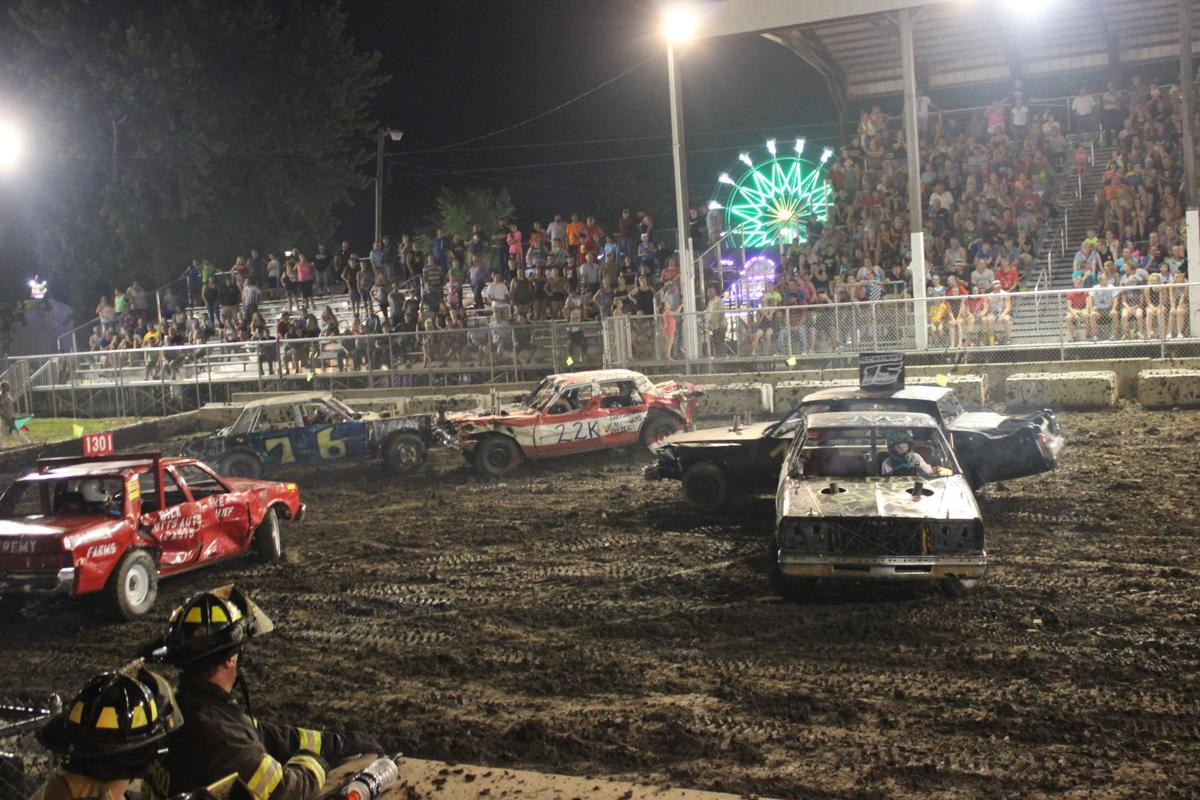 Illinois iroquois county loda - The Final Class Of The Demolition Derby At The Iroquois County Fair Is The Stock Class Which Was Won By Corey Schunke In The Number 15 Car