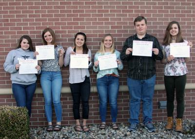 KVHS April Students of the Month