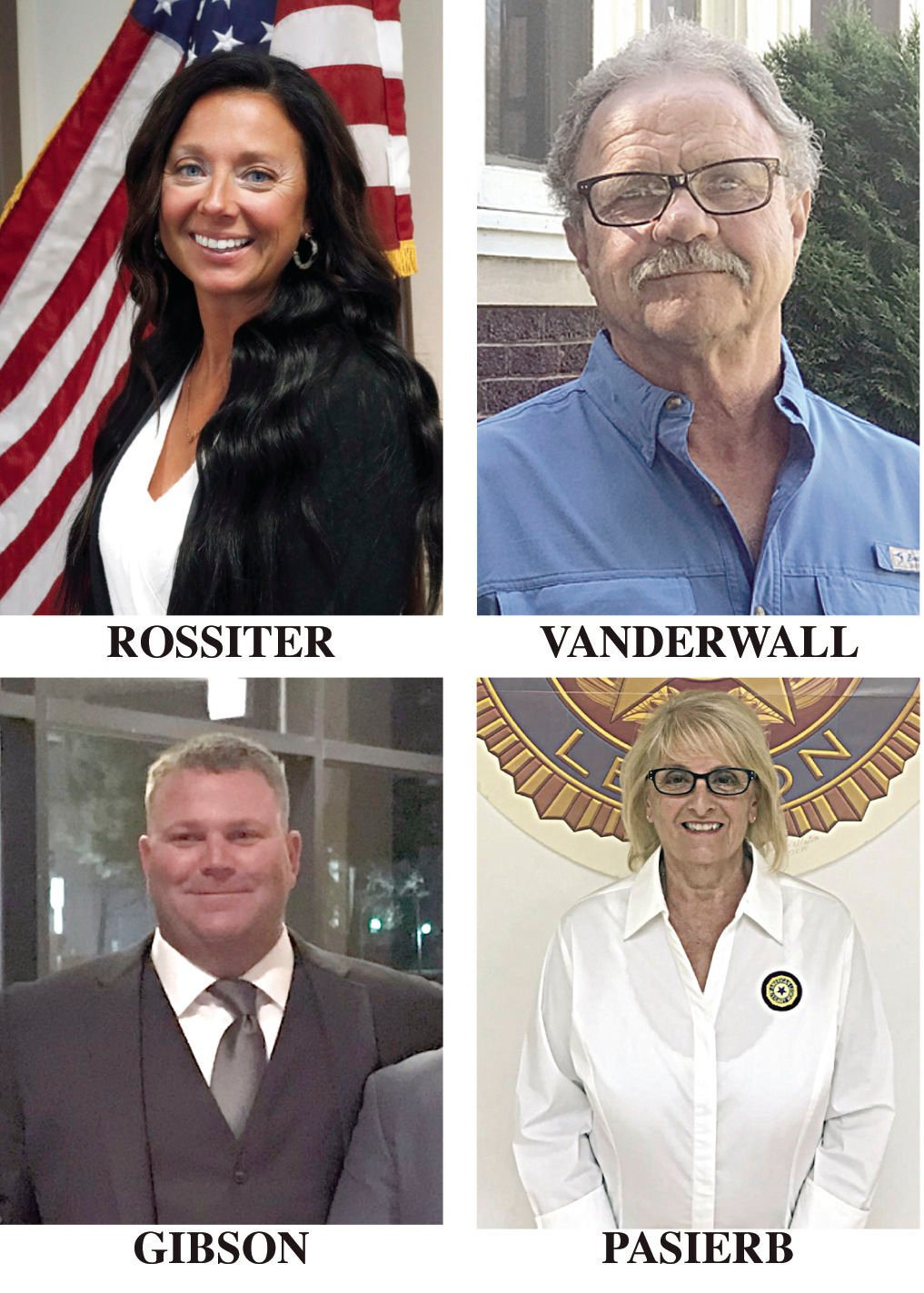 Election grid photos