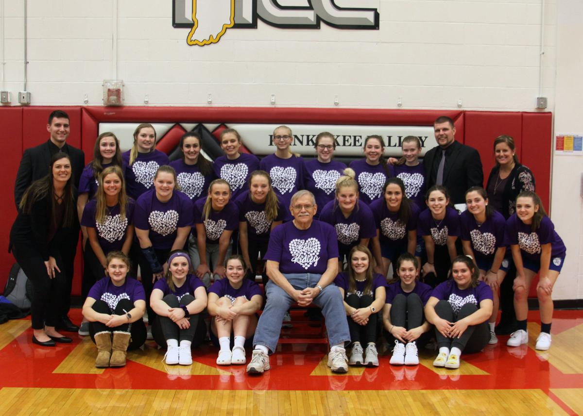Lady BlueJays and Mr. Ridley