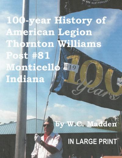 History of American Legion Post book now available