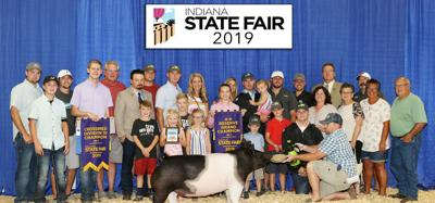 Local girl wins reserve supreme champion at state fair