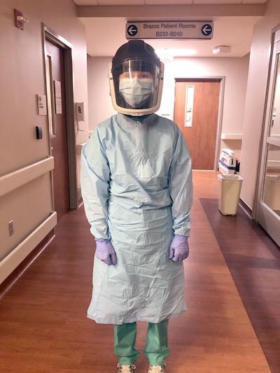 Alyce Kessler in PPE