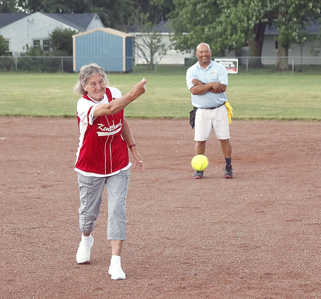 Bennett first pitch