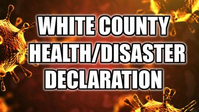 White County disaster declaration logo