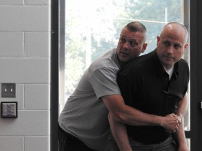West Lafayette officers host R A D  program at North White