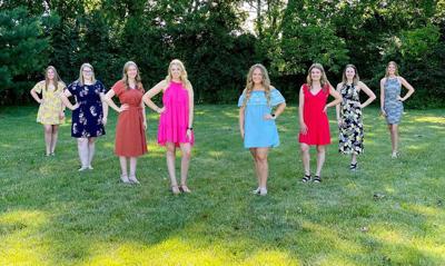 Tippecanoe County 4-H Fair queen contestants