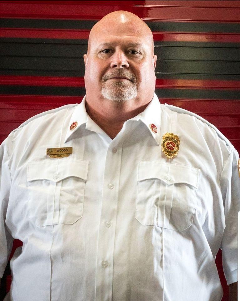 Asst. Fire Chief Randy Woods