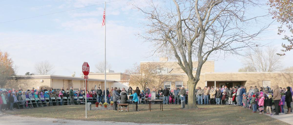 Chebanse Elementary School Veterans' Day program