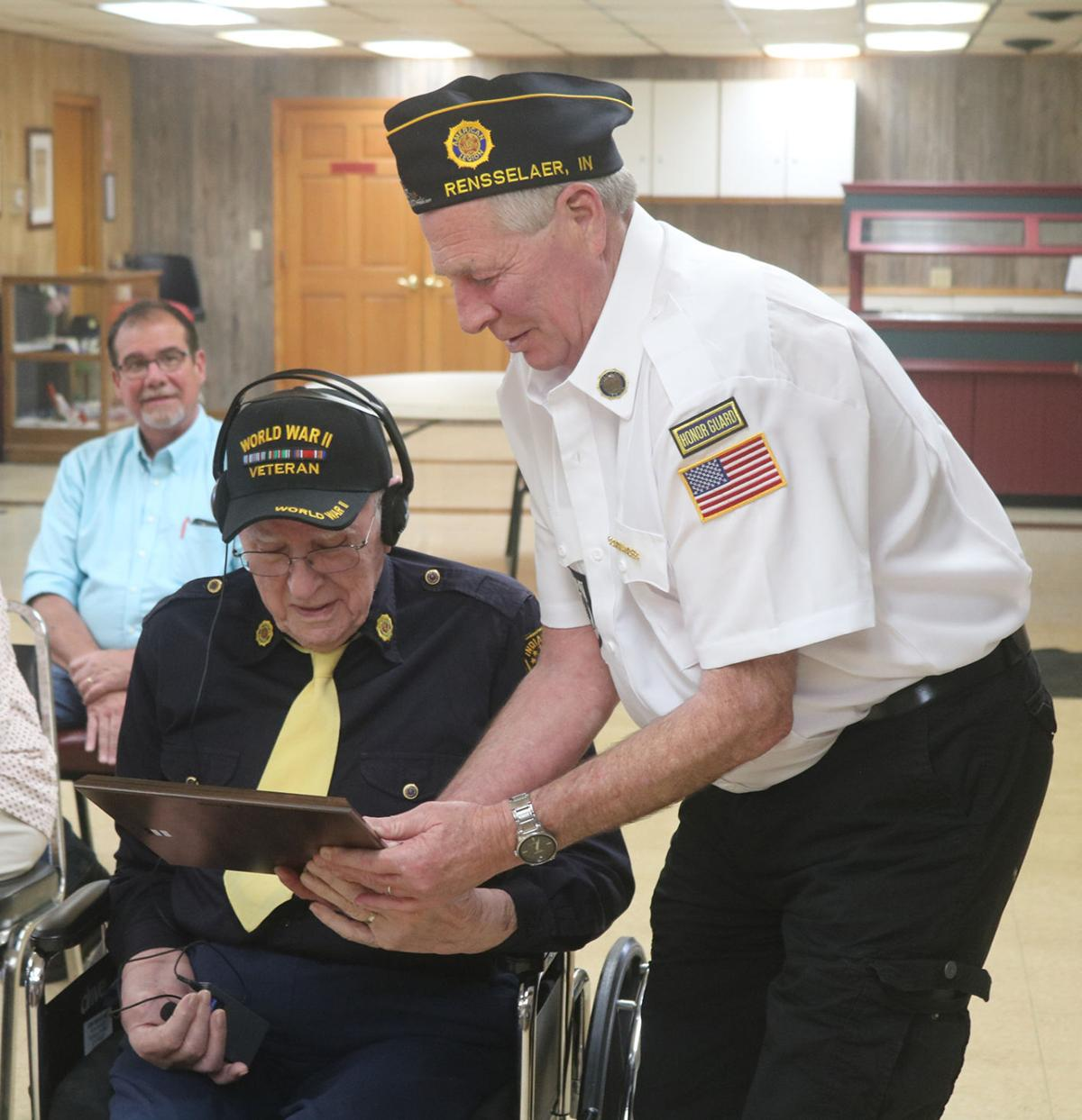 Tonner a Legion member for 75 years