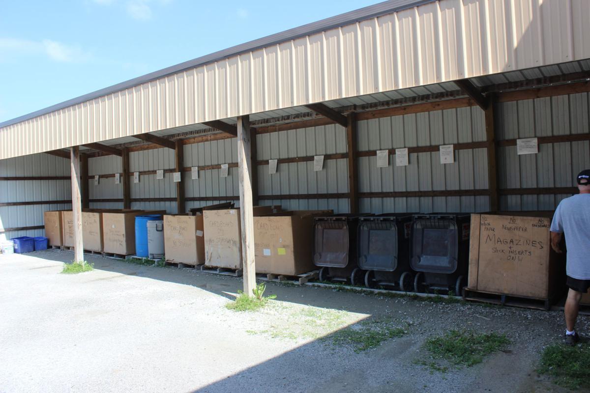 Recycling center near DeMotte