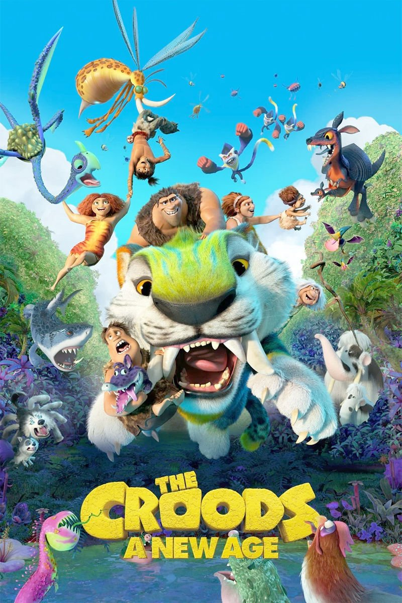 Bob At The Movies The Croods A New Age Is Well Animated Junk Opinion Newsbug Info