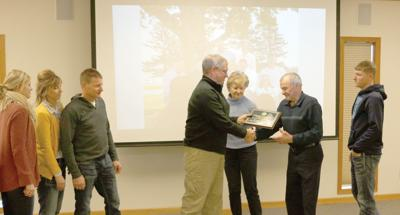 The Redeker family - conservation farm family of the year