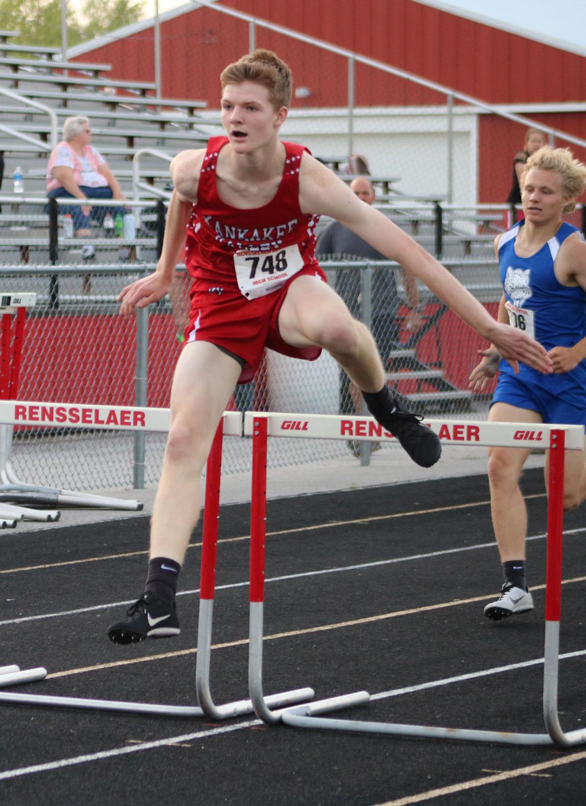 Johnson a 300 hurdles star