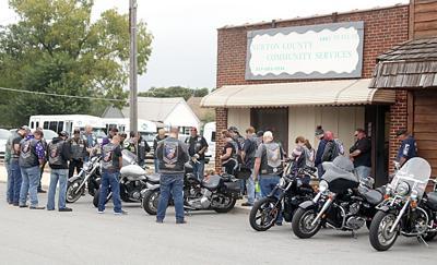 Freedom Riders prayer before ride