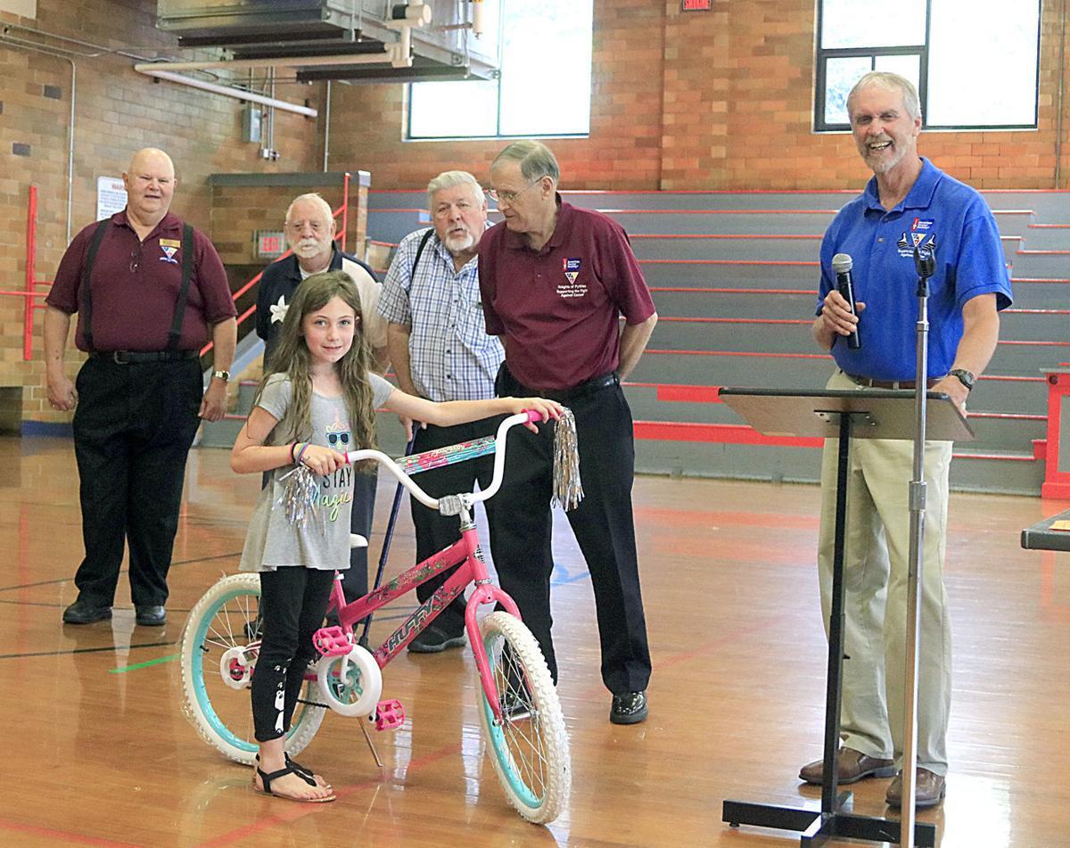 Mae Ruble bike winner