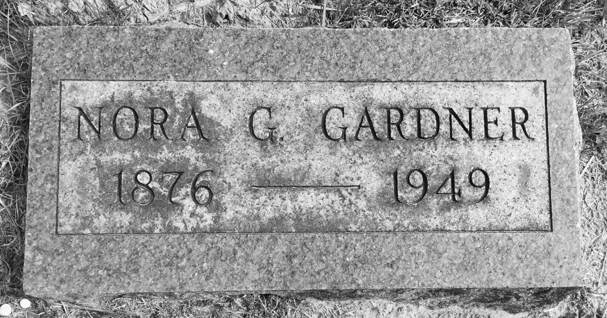 Gardner headstone
