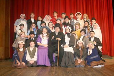 TLHS cast of 'A Christmas Carol'