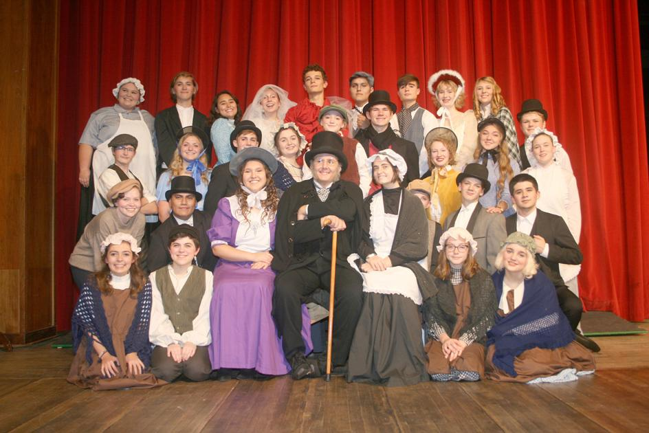 Tlhs Readies For A Christmas Carol Production Monticello Herald Journal Newsbug Info