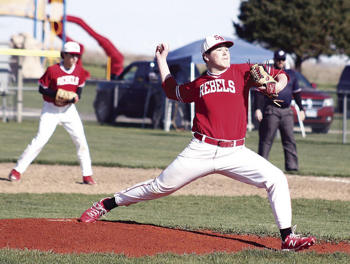 Kellen Krug pitching