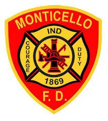 Monticello Fire Department logo