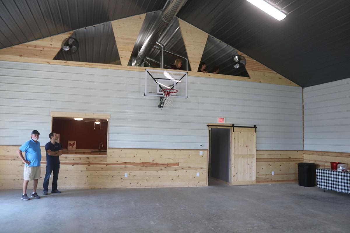 Venue features loft, full kitchen