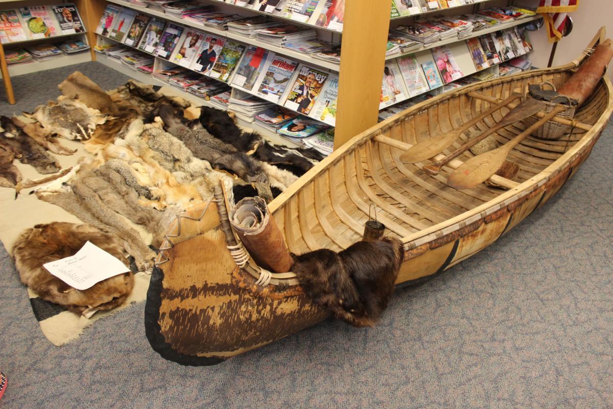 Voyageurs' canoe