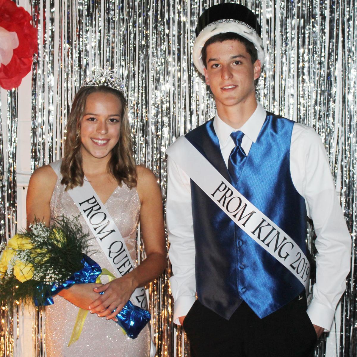 Siblings crowned Hoopeston Area High School Prom royalty