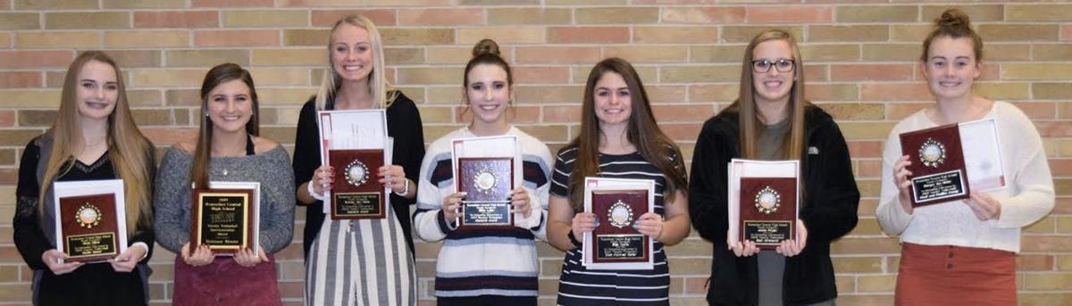 RCHS varsity volleyball awards