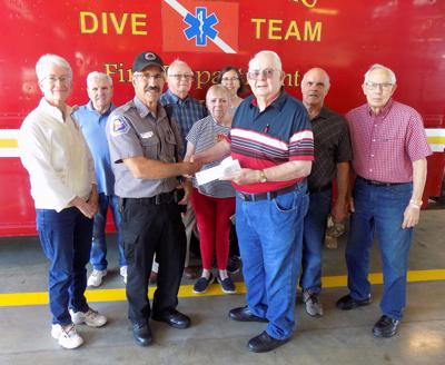 Lake Shafer Association donation