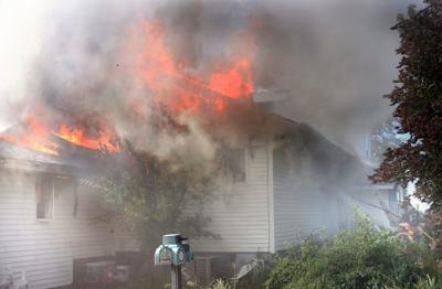 Eleven fire departments called to rural Milford fire
