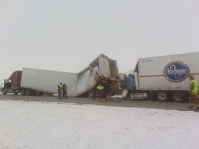 Indianapolis man dies in I-65 crash near Remington   Multimedia