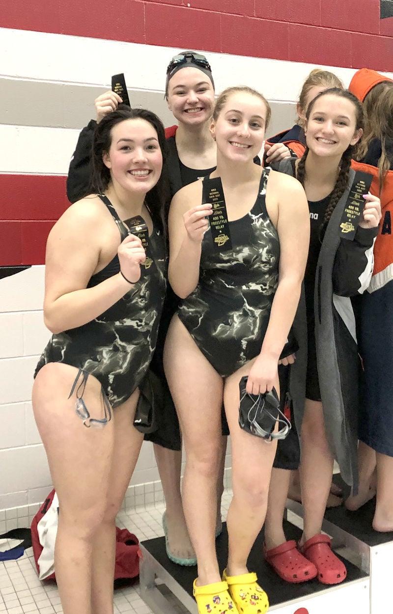 SN 8th place swim relay