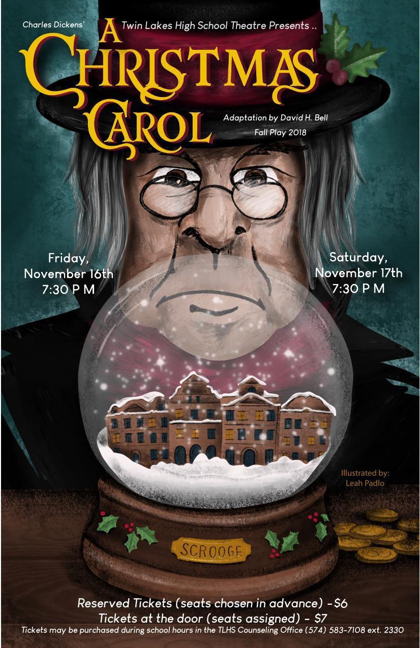 A Christmas Carol Poster.A Christmas Carol Publicity Poster Newsbug Info