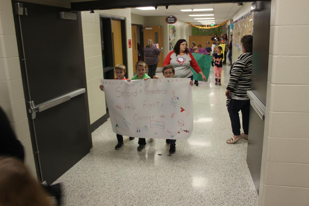 Recess Relay around the halls