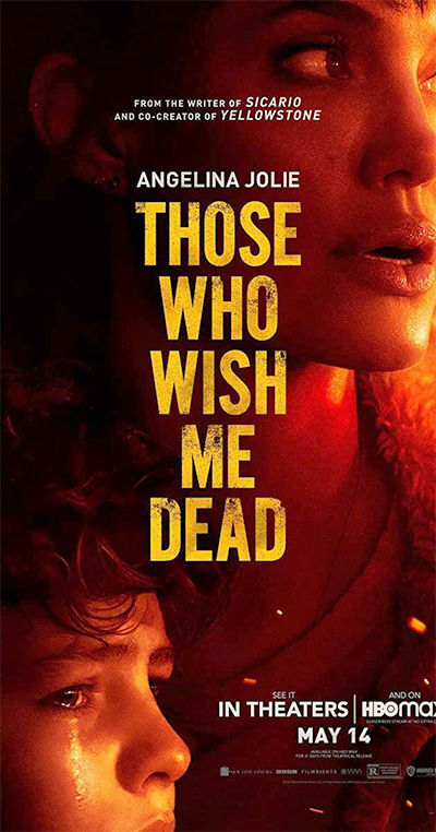 Those Who Want Me Dead movie poster
