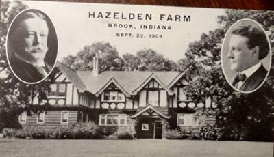 Hazelden Taft postcard