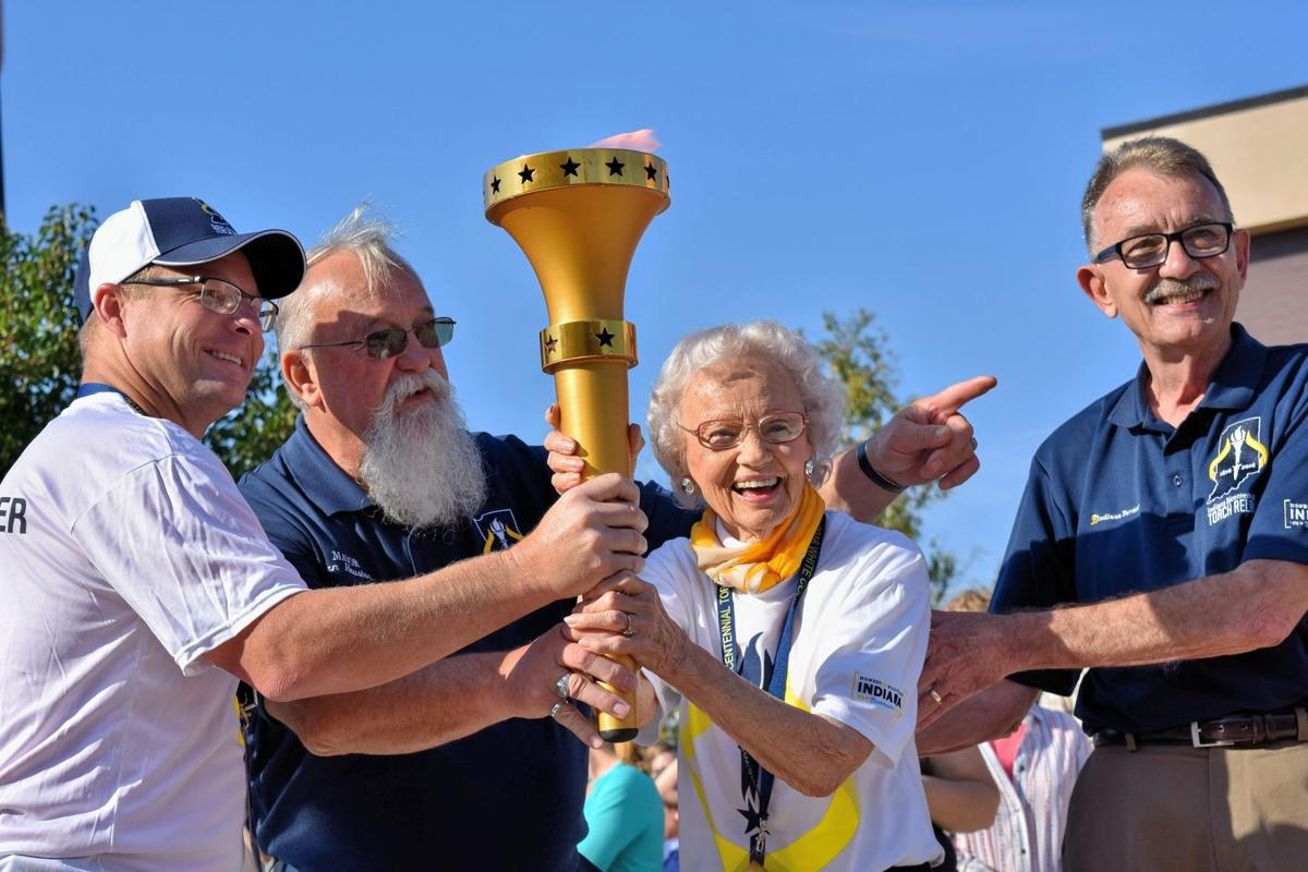 Indiana white county idaville - Community Members Celebrate Passing Of Bicentennial Torch Through White County
