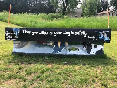 CCHS painted plow