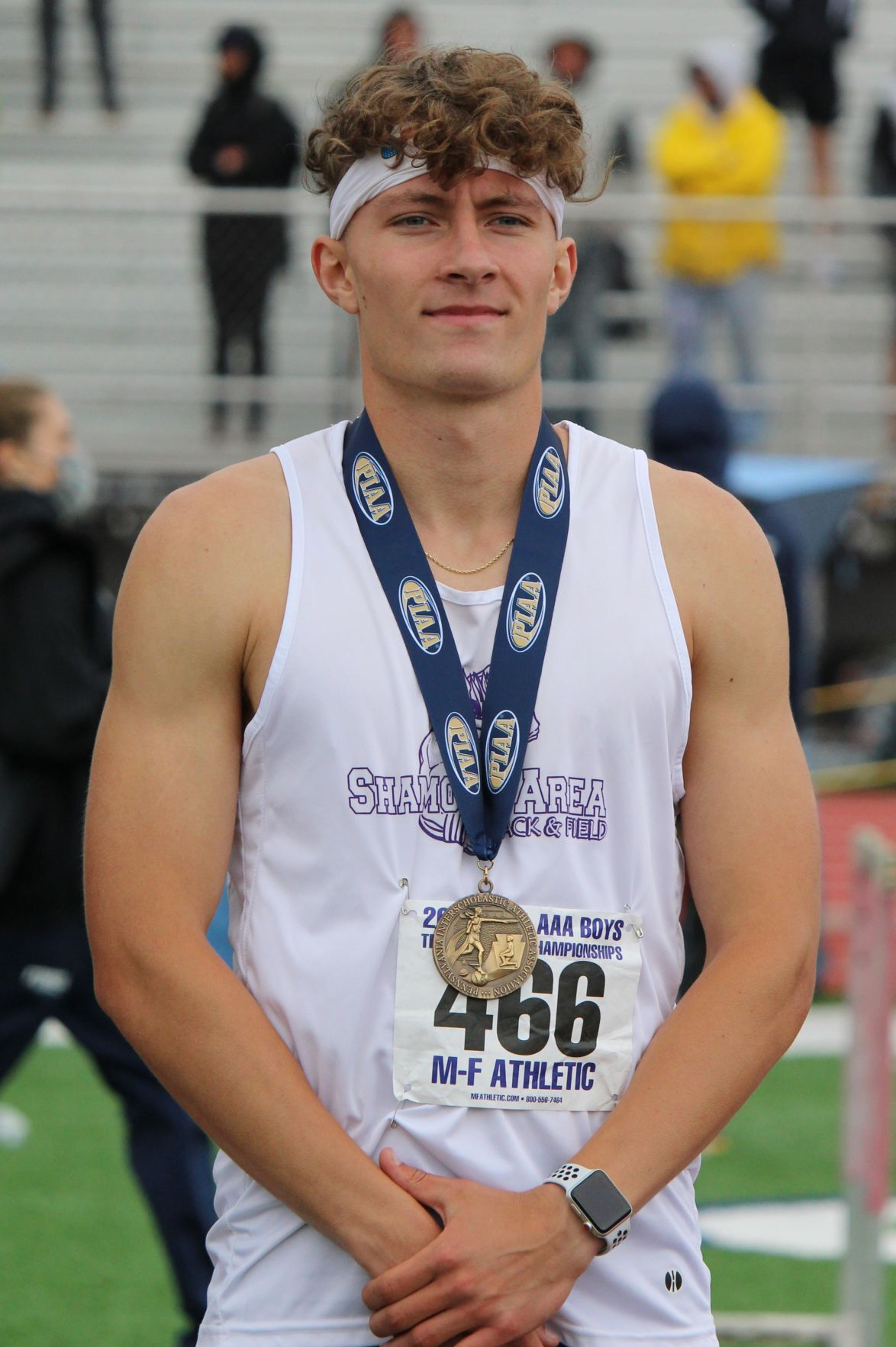 Delbaugh closes career with state medal