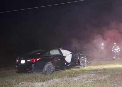 Driver charged with summary offense following wreck that knocked out power