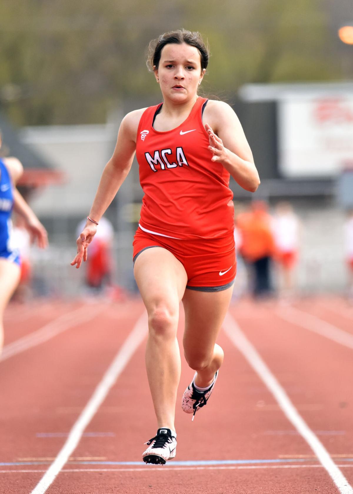 Warrior Run versus Mount Carmel track