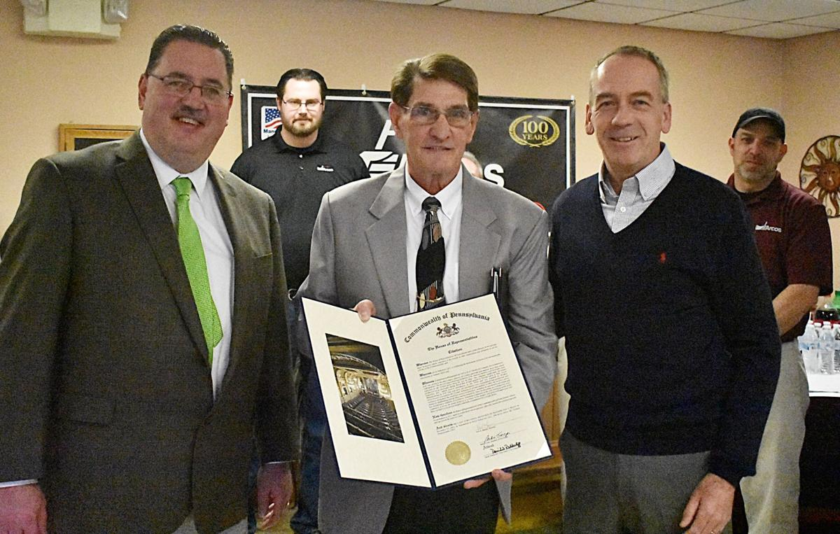 Arcos 100th honored by Pa. legislators